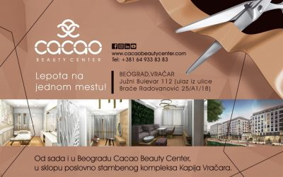 Cacao Beauty centri od sada i u Beogradu i Svilajncu